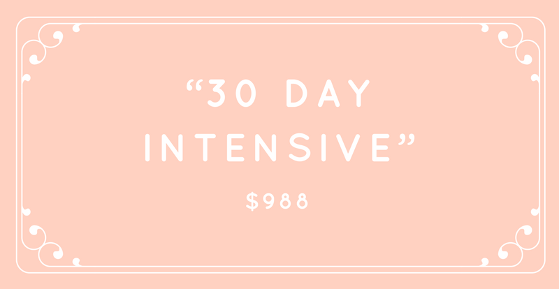 30-Day Intensive