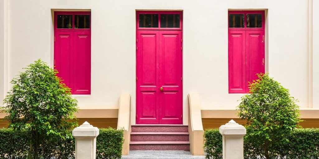 Pick The Perfect Feng Shui Color For Your Front Door Red